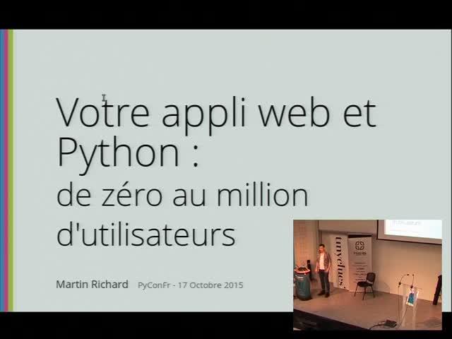 Image from Votre appli web et Python: de zéro au million d'utilisateurs