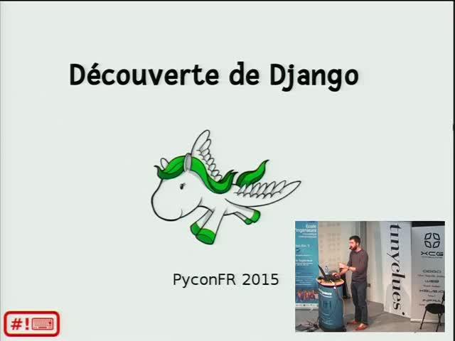 Image from Découverte de Django