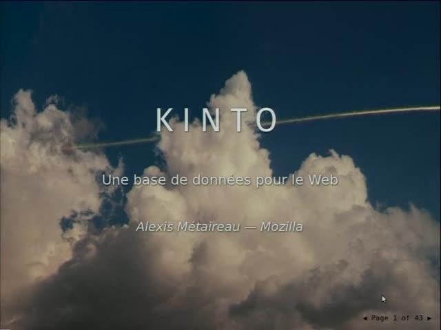 Image from Kinto: stocker, synchroniser et partager ses données de manière générique