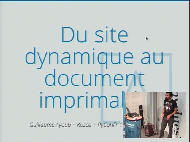 Image from Du site dynamique au document imprimable en Python