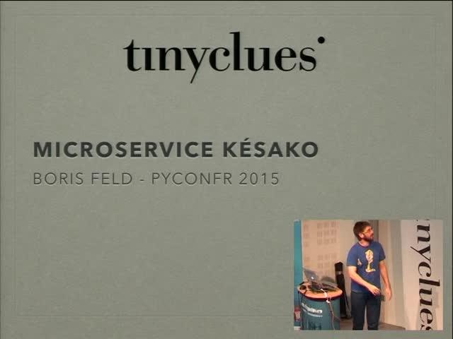 Image from Micro-services késako