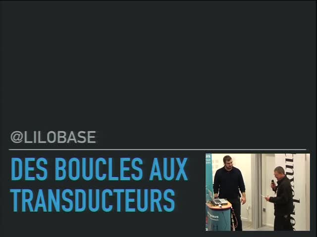 Image from Des boucles aux tranducers