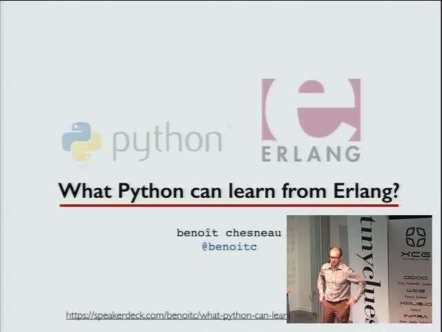 Image from Let it crash - Que peut apporter Erlang à Python