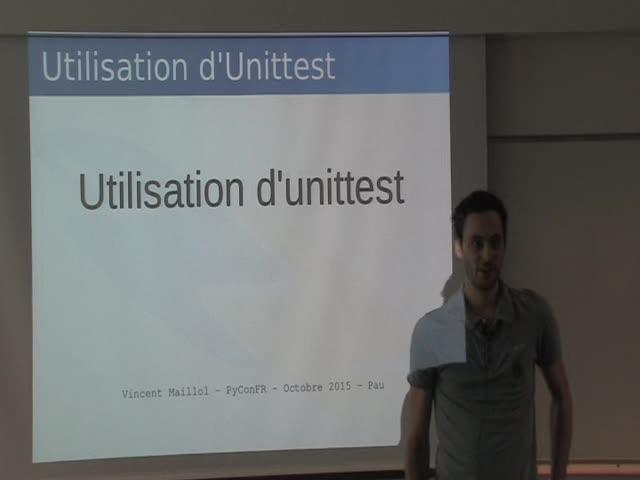 Image from Utilisation de unittest