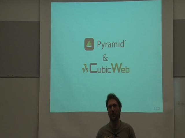 Image from Pyramid & Cubicweb
